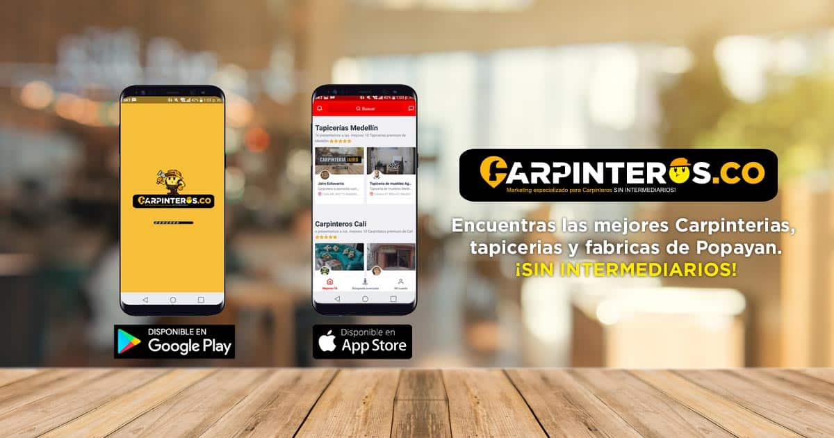 carpinteros popayán