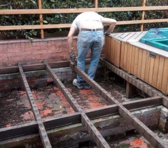 Instalacion de pisos de madera en bogota antes 2