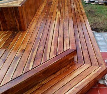 Instalacion de pisos de madera en bogota despues