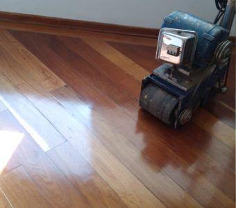 Mantenimiento de pisos de madera en bogota despues