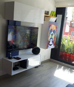 Muebles para tv - centros de entretenimiento (66)